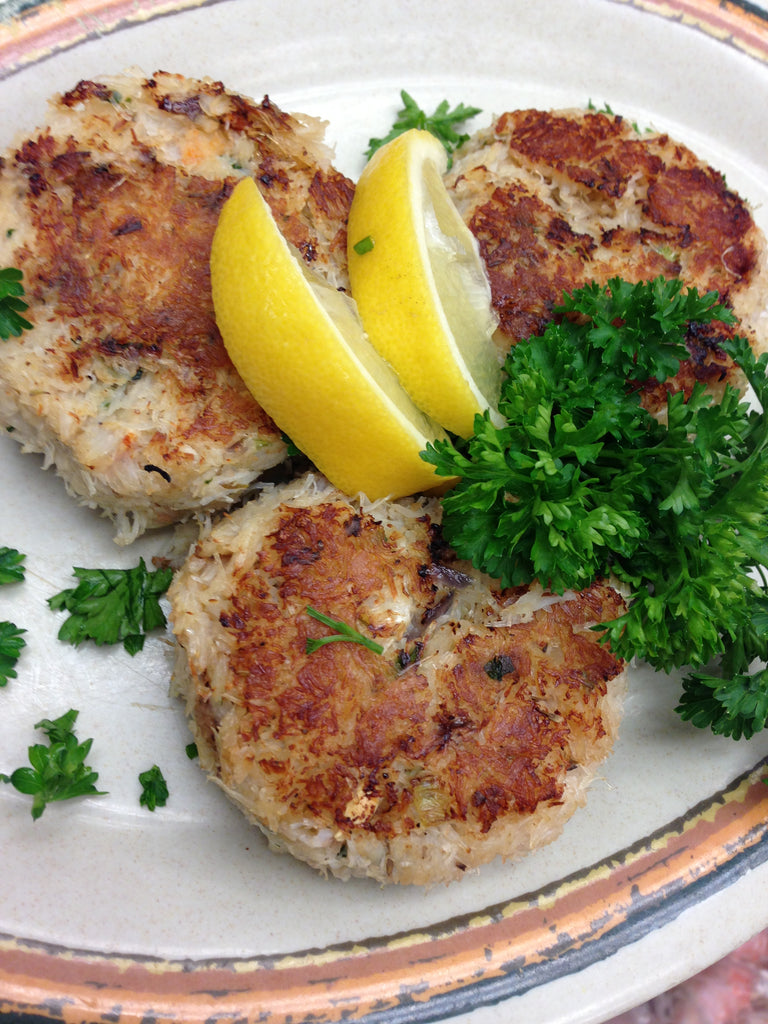 Pacific Northwest Dungeness Crab Cakes