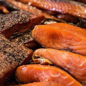 How long our Smoked Salmon lasts in and out of the fridge and can it be frozen?