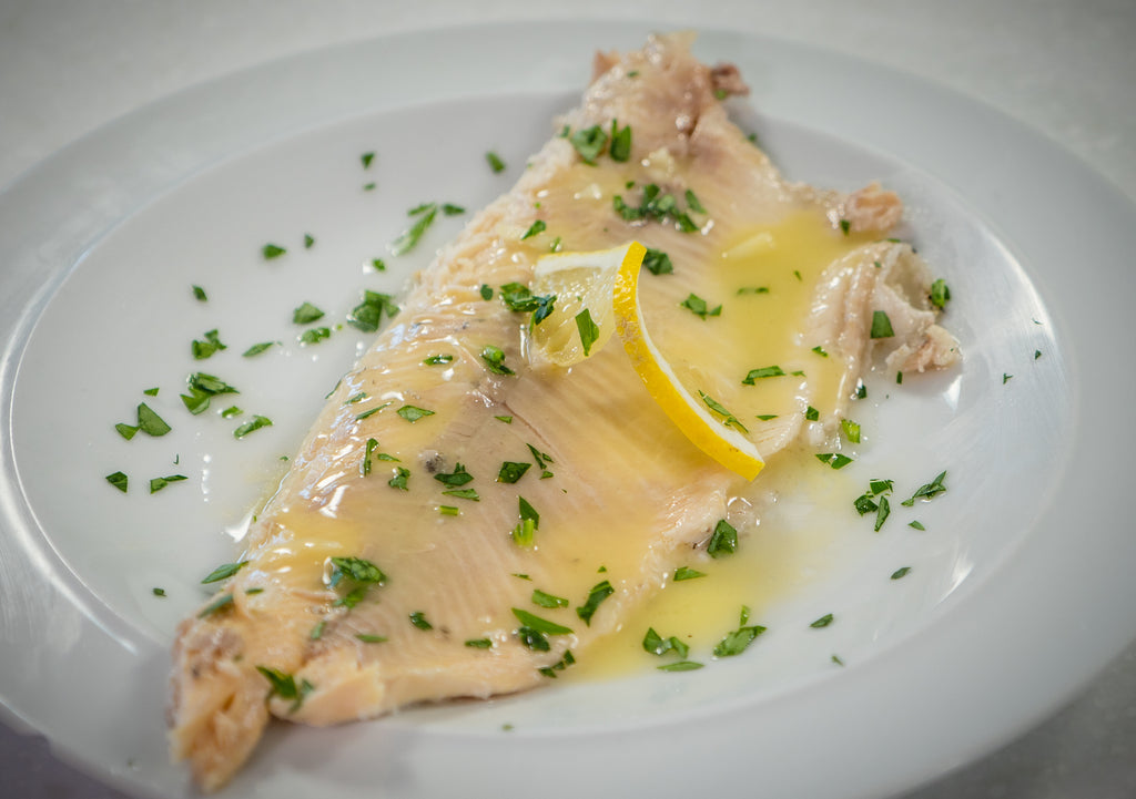 Salt Baked Trout