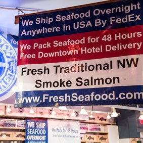Shipping and traveling with seafood from Pure Food Fish Market