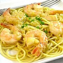 Elegant Shrimp Scampi Pasta Lightened Up