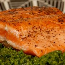 Reefnet Salmon with Salsa Verde
