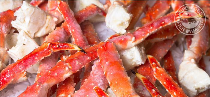 20 pound case! JUMBO! 4-7 Fancy Red King Crab Legs
