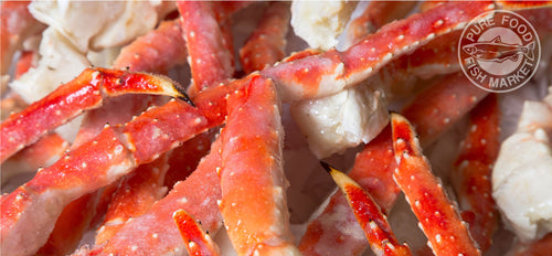 20 pound case! JUMBO! 4-7 Fancy Alaskan Kodiak Red Crab Legs