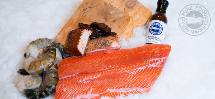 Deluxe Fresh Salmon Gift Pack