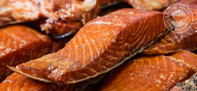 Fresh Alderwood Smoked Salmon.. CENTER CUTS ONLY