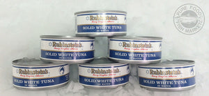 Fancy Solid white albacore tuna (water packed, 6.5 oz cans)