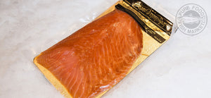 Fresh Sliced Novia Scotia-Style Smoked Salmon Lox