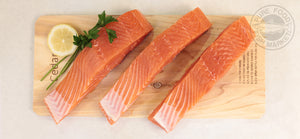 Fresh Alaskan King Salmon Fillets