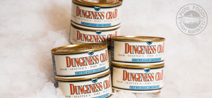 Dungeness Crab Meat  (6.5 oz cans)