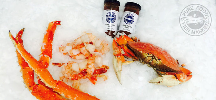 King Crab, Dungeness Crab, & Shrimp Ready To Eat Meal