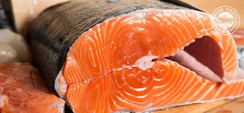 Fresh Whole Copper River King Salmon