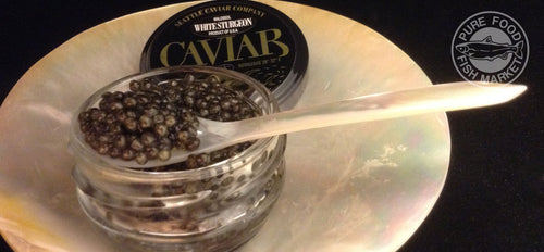 Malosool Farmed White Sturgeon Caviar
