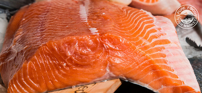 Fresh Copper River King Salmon Fillet- IN SEASON NOW!