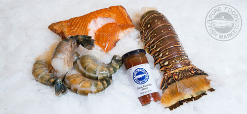 3-Course Fresh Seafood Meal