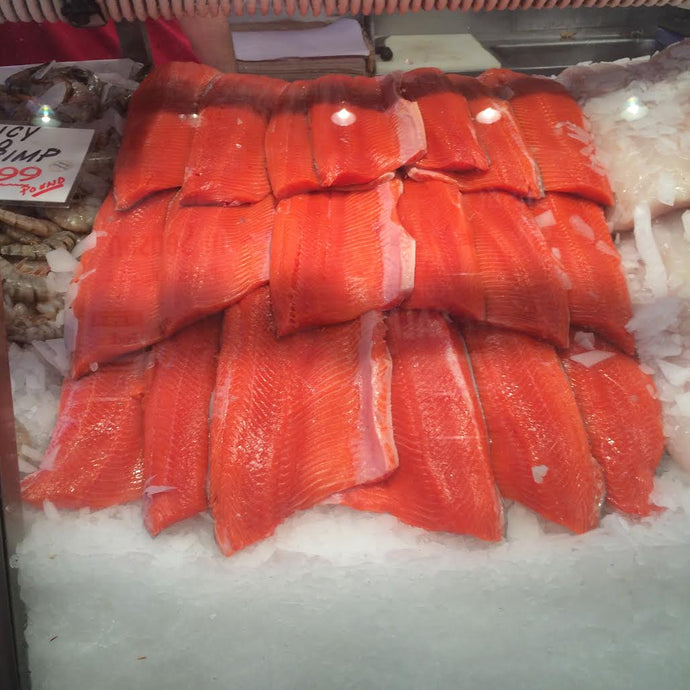 Fresh Copper River Sockeye Salmon Fillet- IN SEASON NOW!