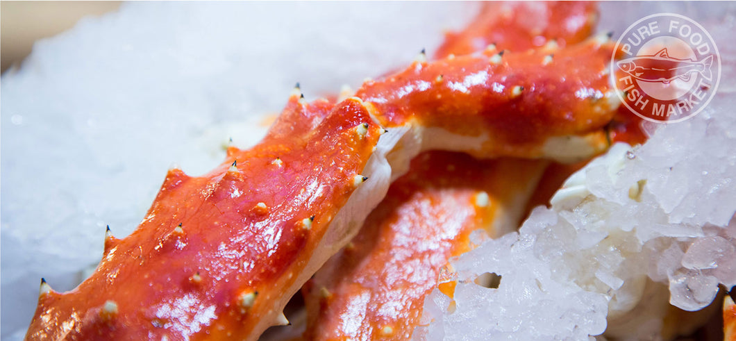 Fancy Red King Crab Parts