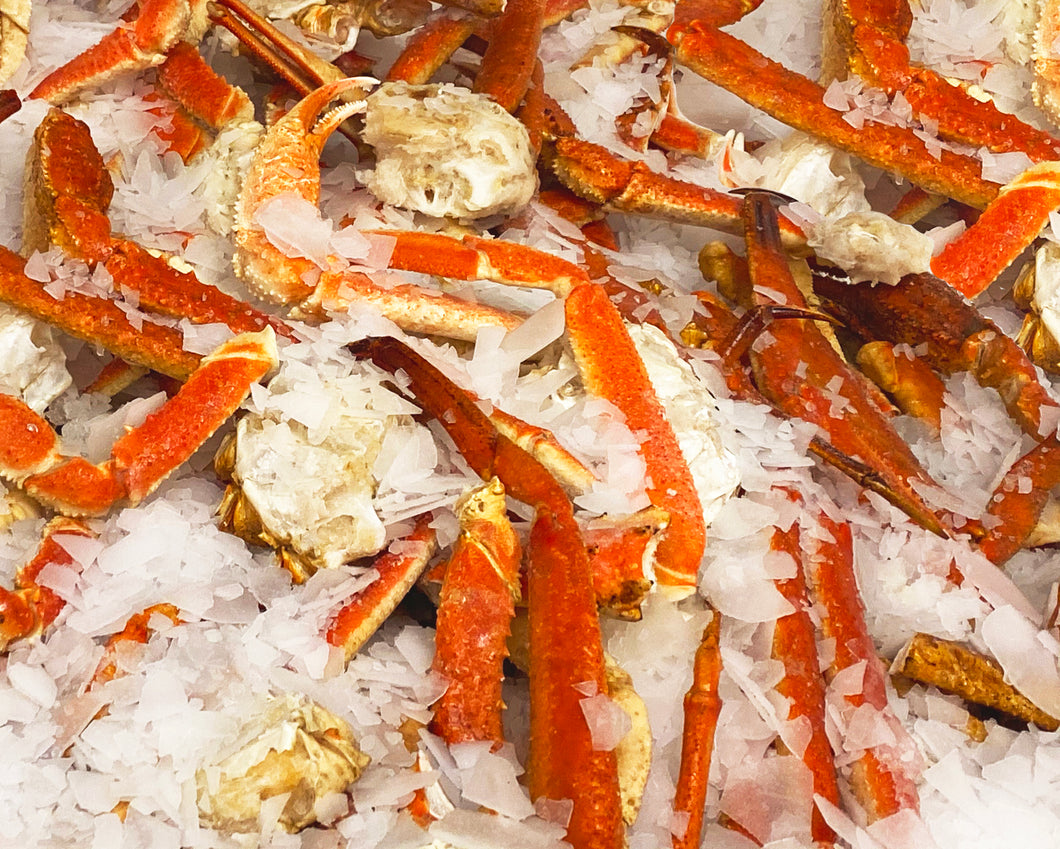 Alaskan Snow Crab Parts