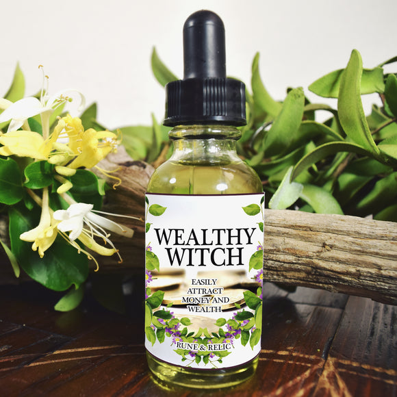 Wealthy Witch Ritual Oil
