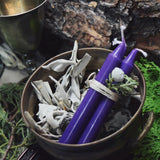Purple Spell Candles