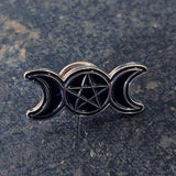 Season of the Witch Pin: Triple Moon