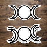 Moon Cycles Moon Decal