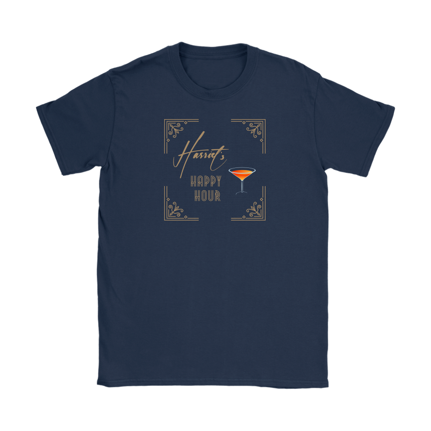 Women's Gildan T-shirt - Loose fit [Harriet's Happy Hour - 03]
