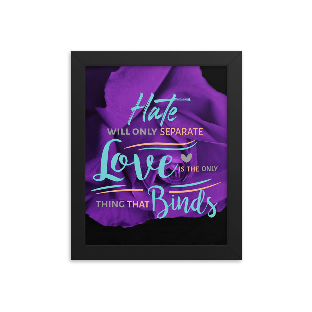 Lyric Art — Graphic LB1 [Framed]