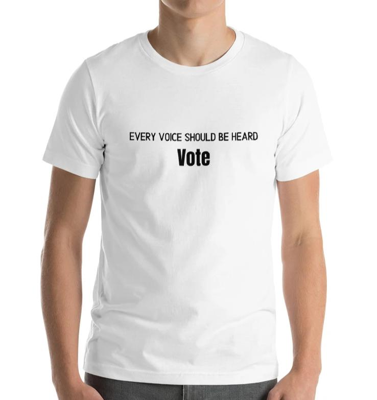 Women's Relaxed T-Shirt [Silence is not golden - Vote]
