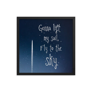 Lyric Art — Graphic GL1 [Framed]
