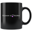 Black Mug - 11 oz. [Equal means Equal]