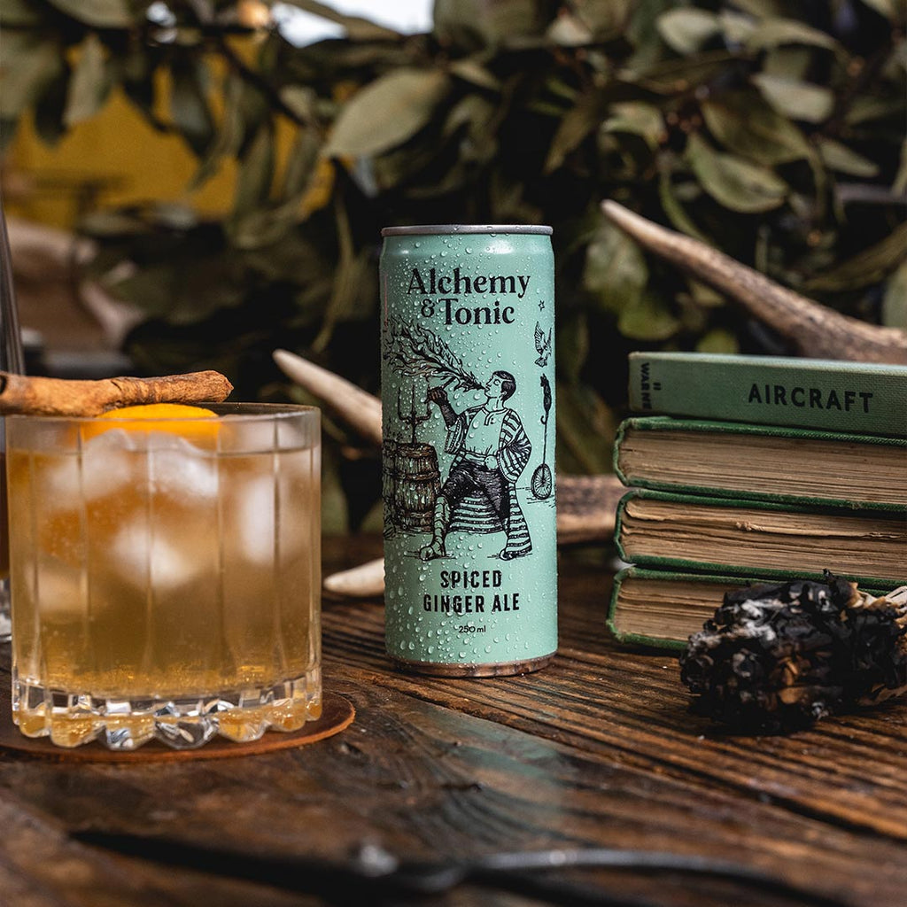 Alchemy & Tonic - Spiced Ginger Ale - Premium Liquor New Zealand