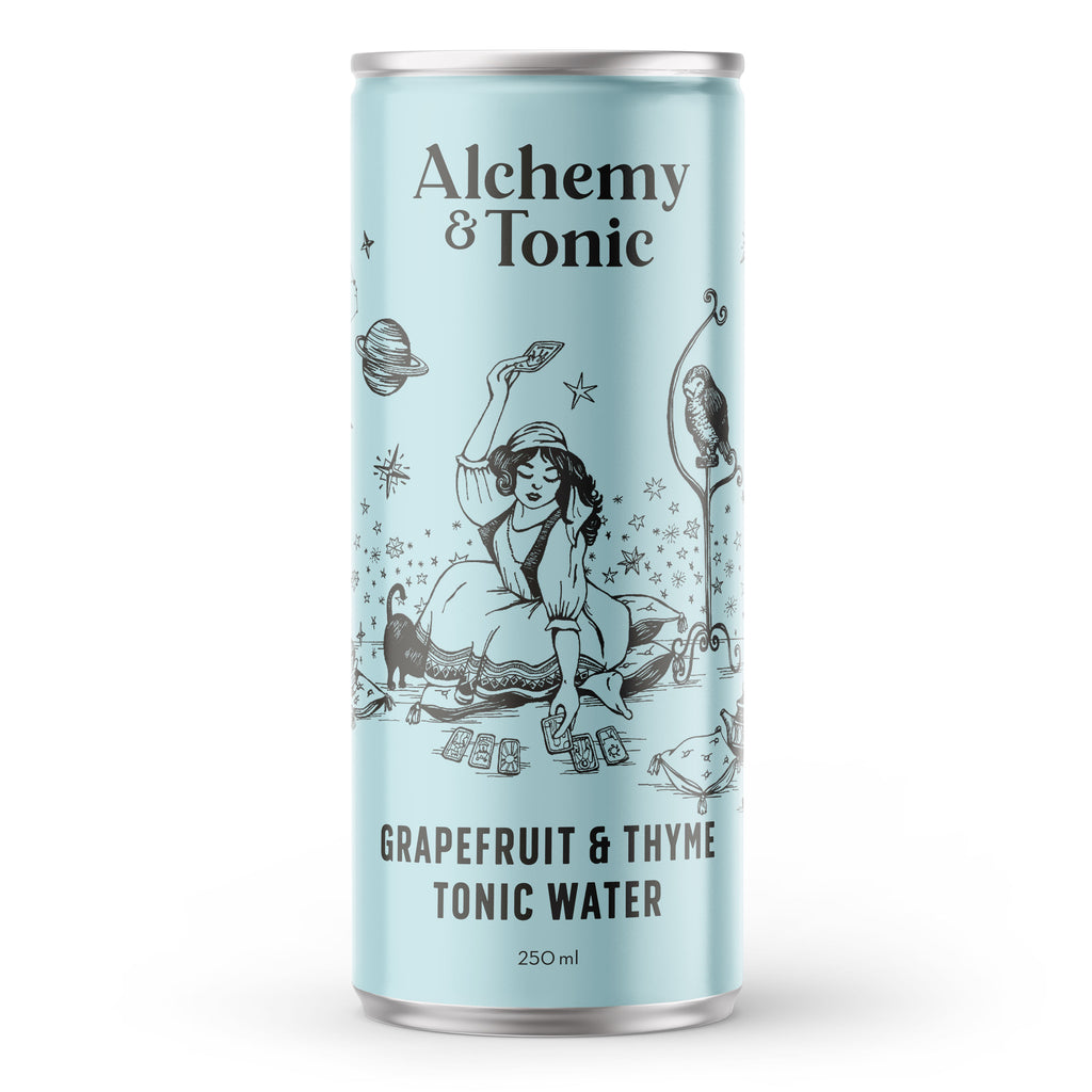 Alchemy & Tonic - Grapefruit & Thyme Tonic Water