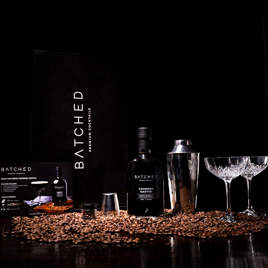 BATCHED Espresso Martini Cocktail Set - Premium Liquor New Zealand