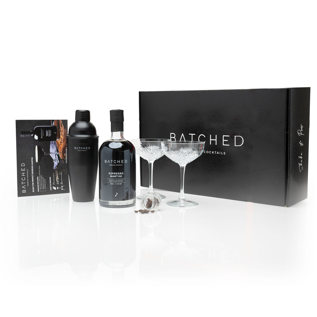 BATCHED Espresso Martini Cocktail Set