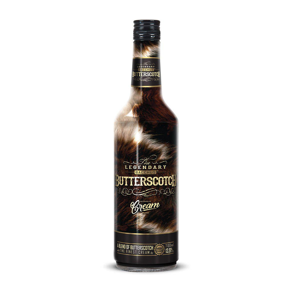 Bacchus Butterscotch Cream - Premium Liquor New Zealand
