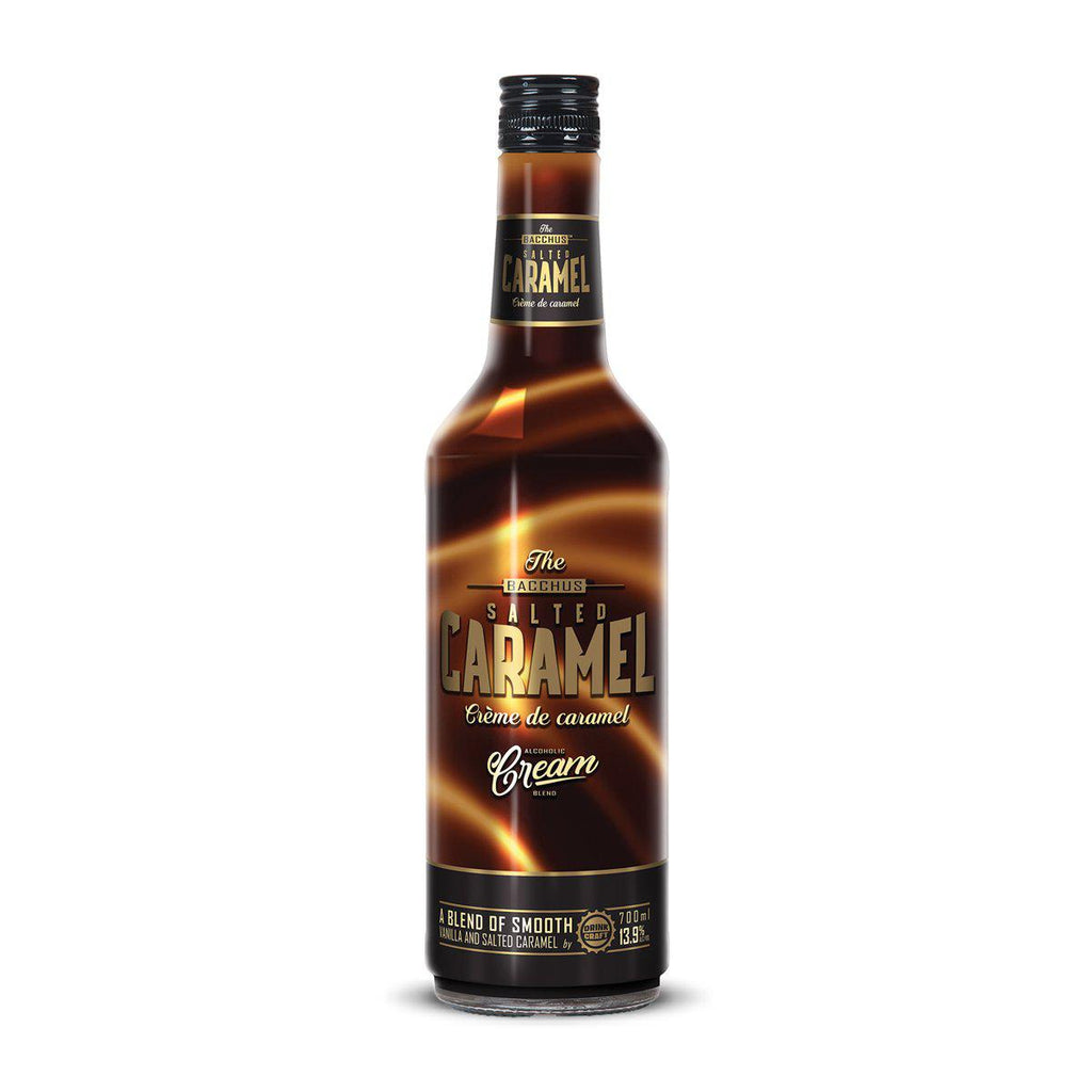 Bacchus Salted Caramel Cream - Premium Liquor New Zealand