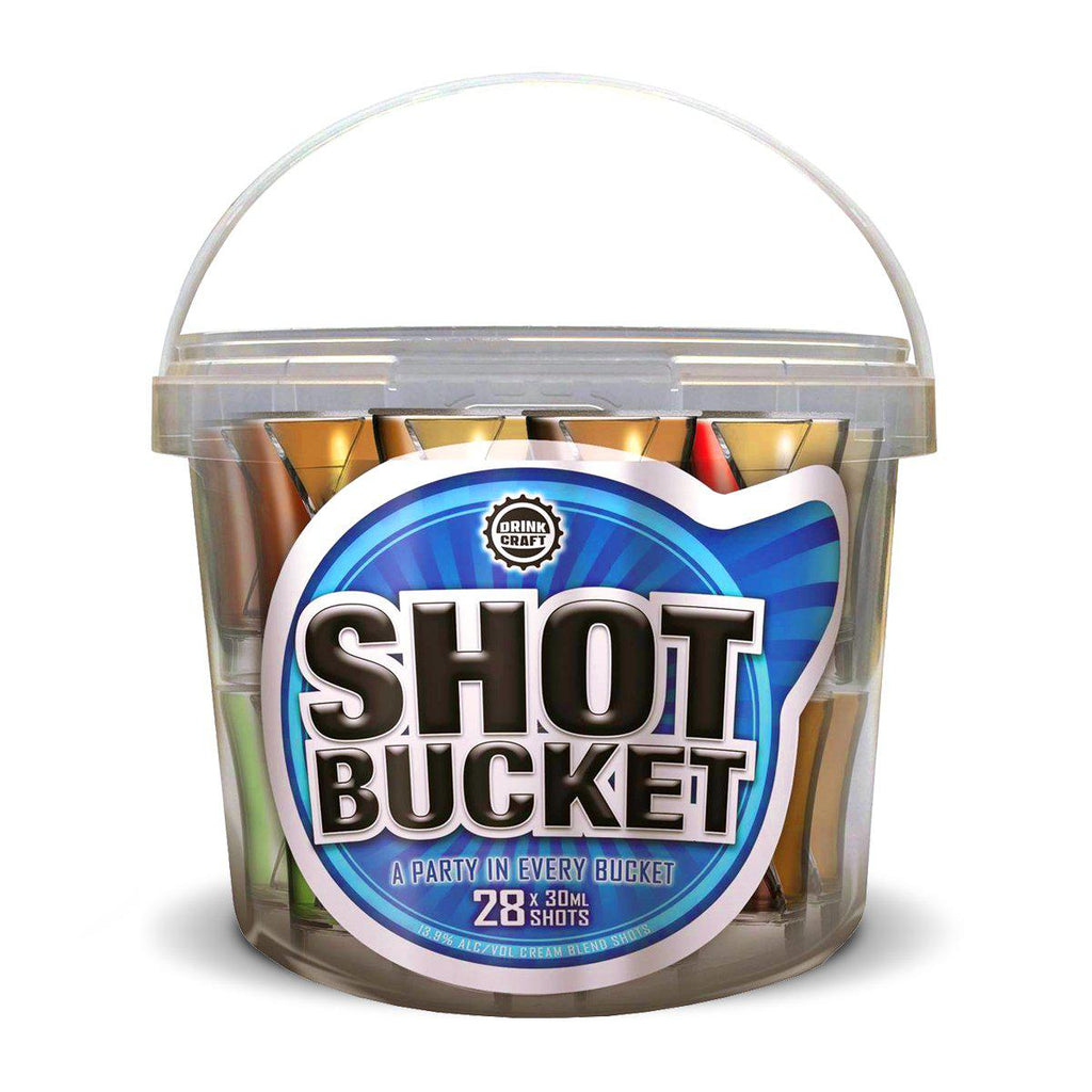 Drink Craft 28 Shot Bucket - Premium Liquor New Zealand