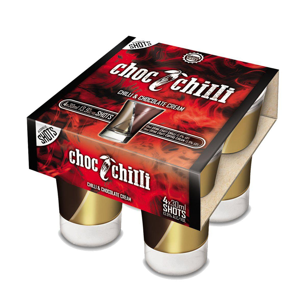 Drink Craft Chilli Choc Shots - Premium Liquor New Zealand
