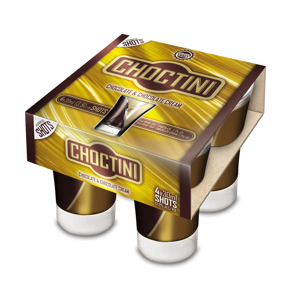 Drink Craft Choctini Shots - Premium Liquor New Zealand