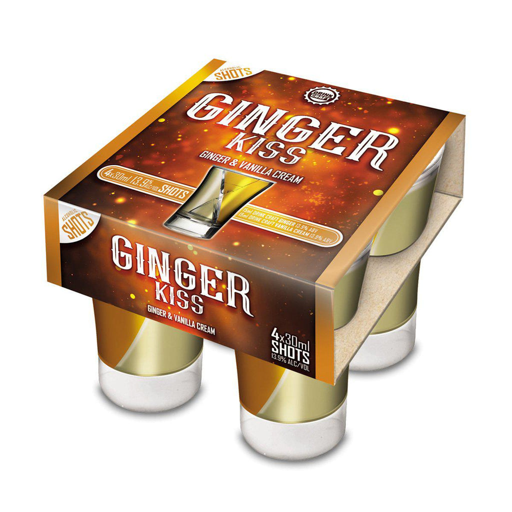 Drink Craft Ginger Kiss Shots - Premium Liquor New Zealand