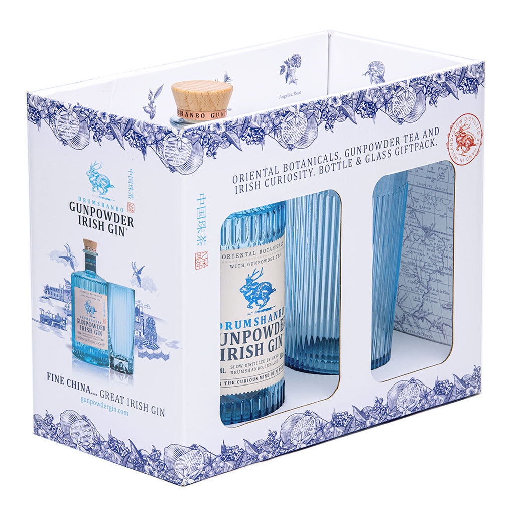 Drumshanbo Gunpowder Irish Gin Gift Pack