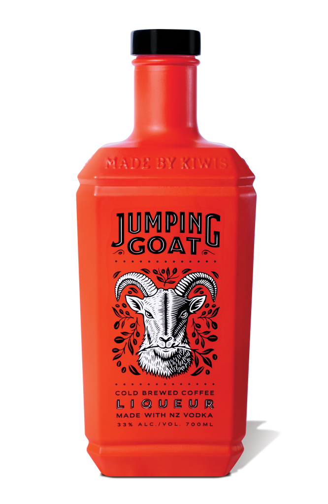 Jumping Goat - Coffee Infused Vodka Liqueur - Premium Liquor New Zealand