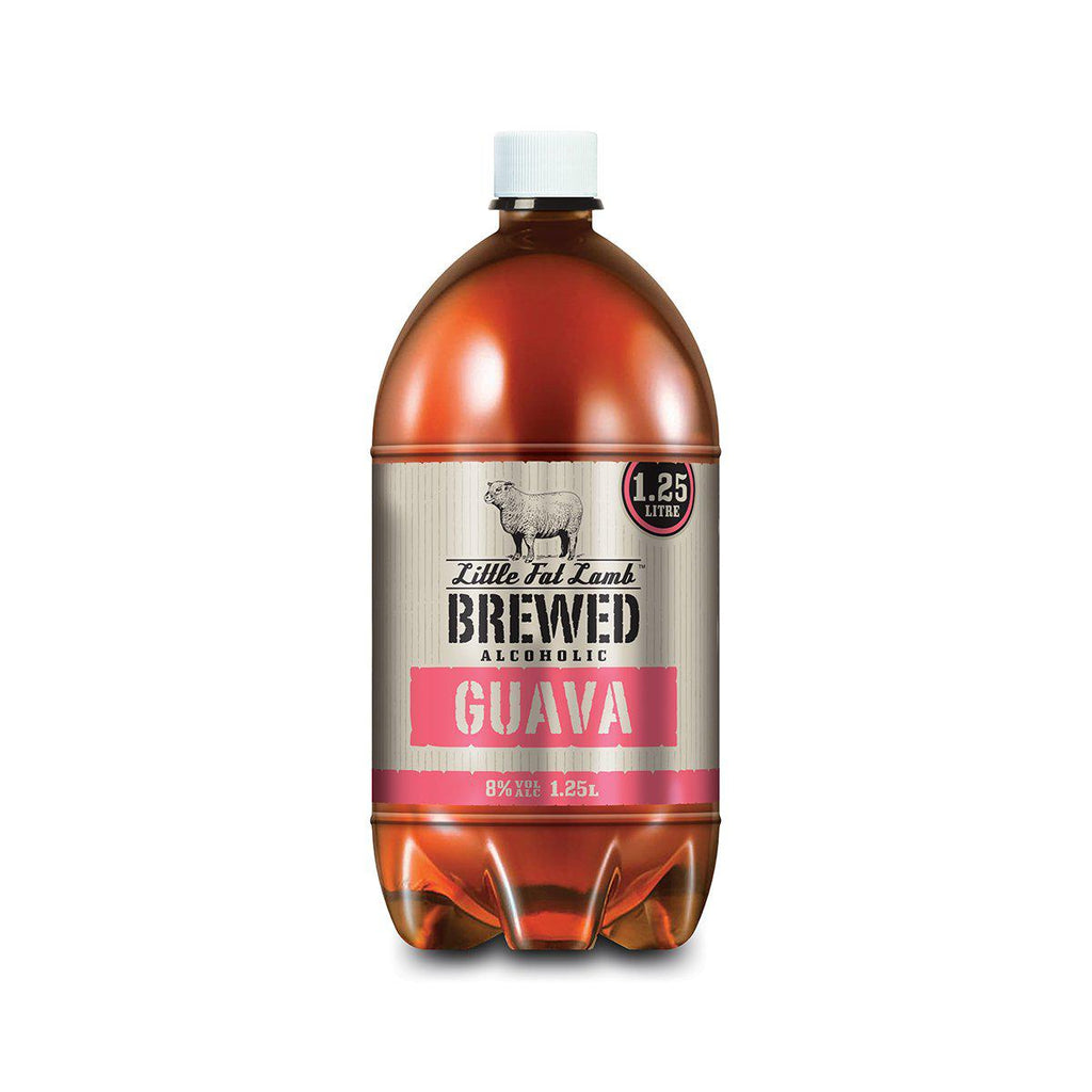 Little Fat Lamb Brewed Guava - Premium Liquor New Zealand