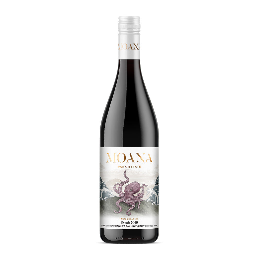 Moana Park Estate Hawkes Bay Syrah - Premium Liquor New Zealand