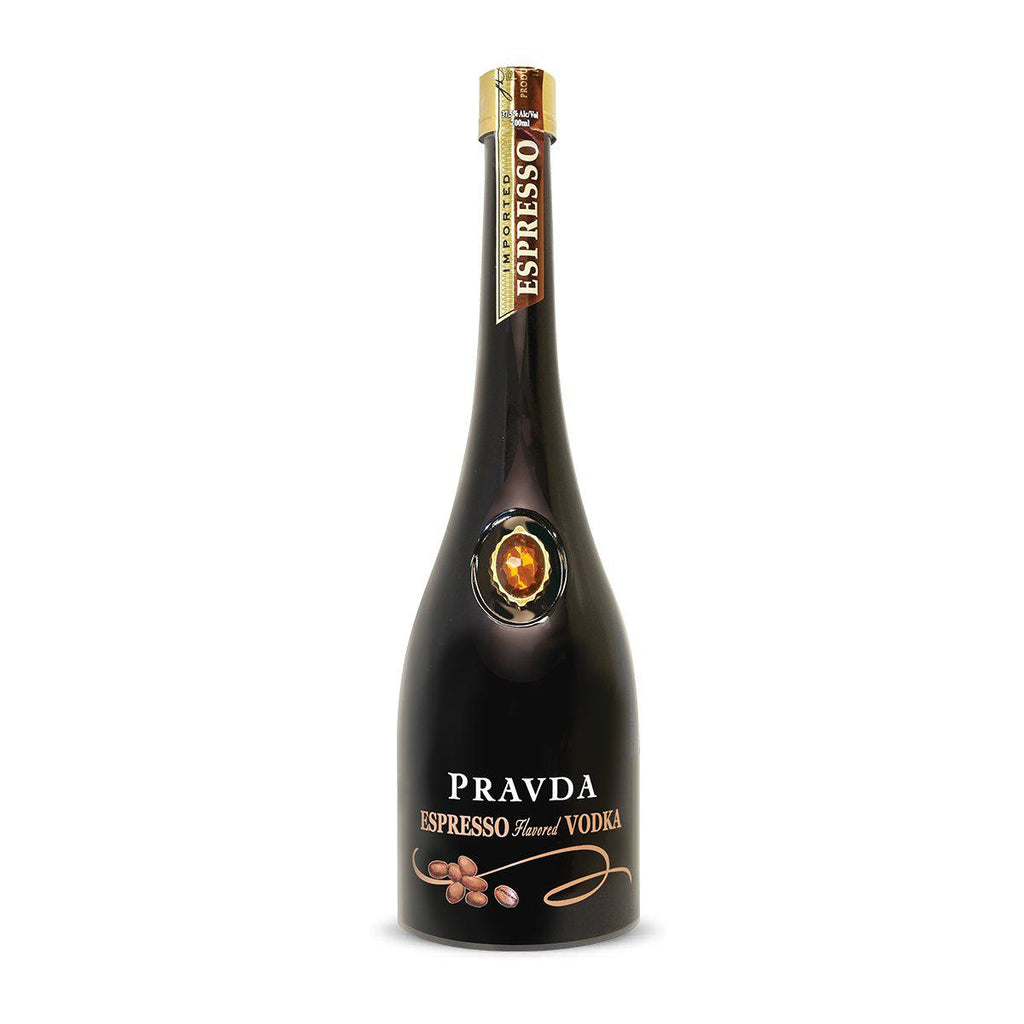 Pravda Espresso Vodka - Premium Liquor New Zealand