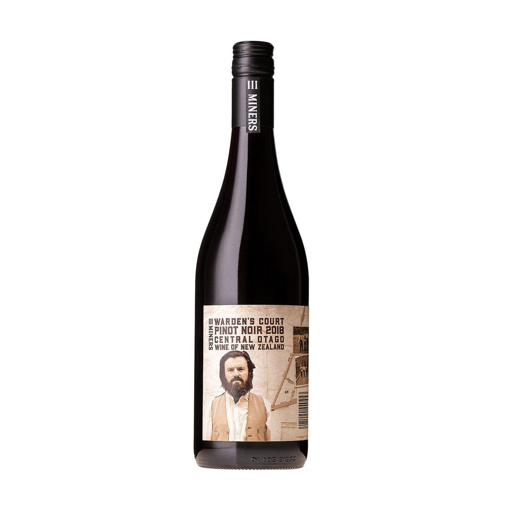 Three Miners - Warden's Court Pinot Noir 2018 - Premium Liquor New Zealand