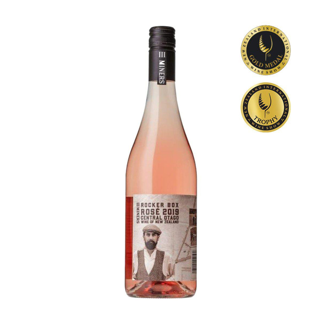 Three Miners - Rocker Box Rose 2019 - Premium Liquor New Zealand
