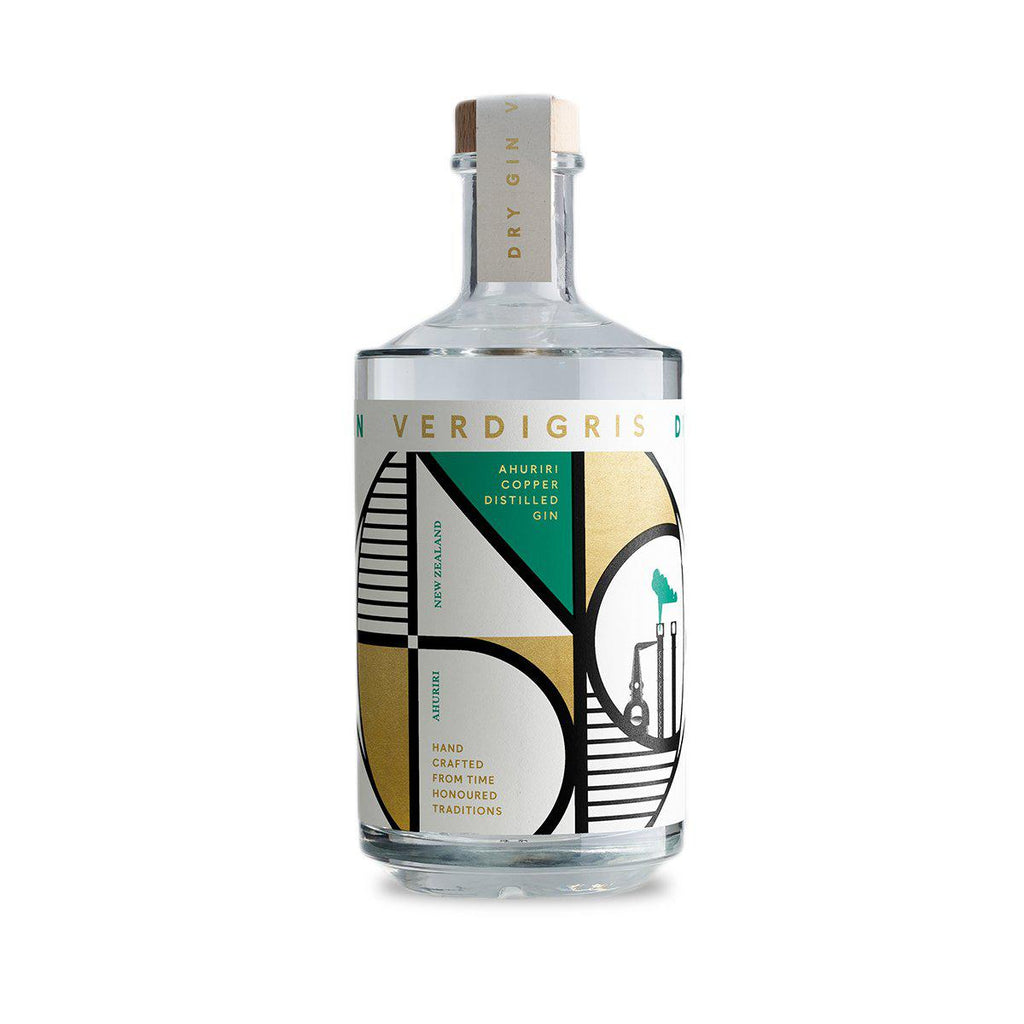 National Distillery Co. Verdigris Dry Gin - Premium Liquor New Zealand