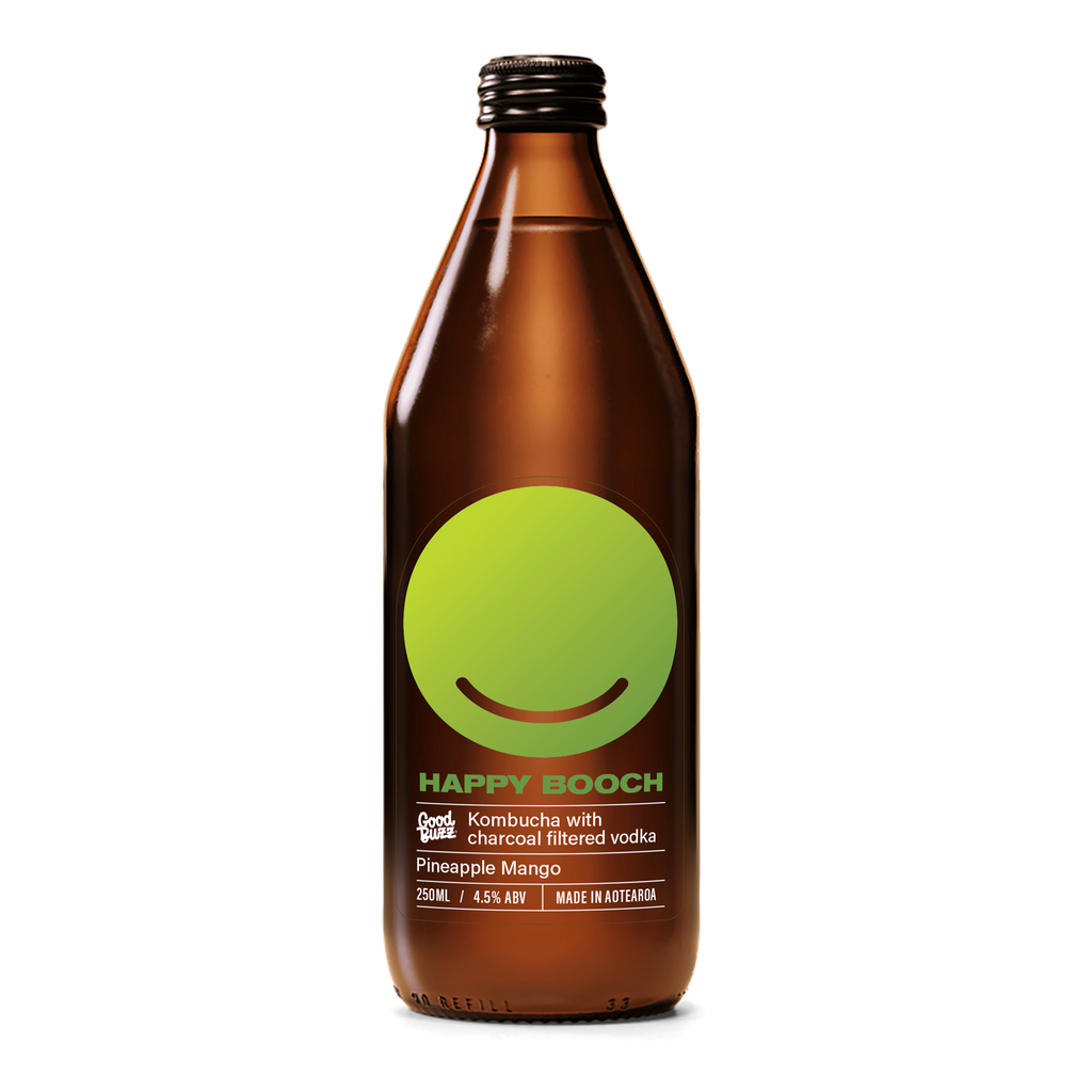 Happy Booch Pineapple Mango - Premium Liquor New Zealand